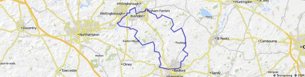 Doddington to Bedford