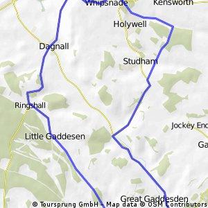 Amelias route (modified)
