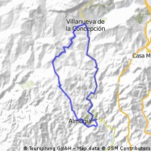Almogia-Villanueva de la Consepcion-Amogia( por Tellez)