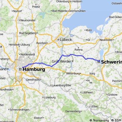 Hamburg/Eilbek - Schwerin/Werderstadt