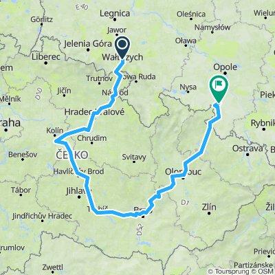 mała trasa czeska