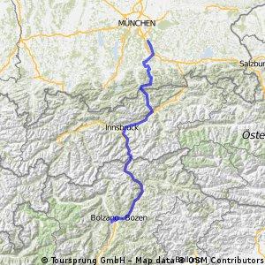 Putzbrunn - Achensee- Girlan(Südtirol)