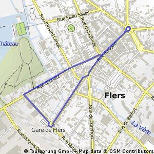Critérium rue du 6 juin FLERS