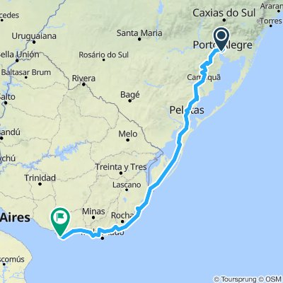 Porto Alegre - Montevideo
