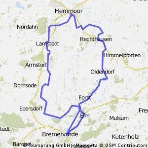 """RTF """"Alpenweg"""" Permanente  - TSV Bremervörde"""