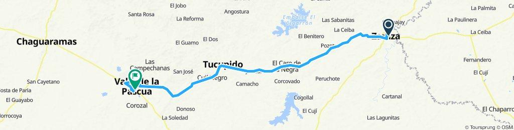 Vuelta a Venezuela 2011: Etapa 4B -> Zaraza - Valle de la Pascua
