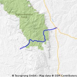 across the Big Horn Mountains: Buffalo - Tensleep