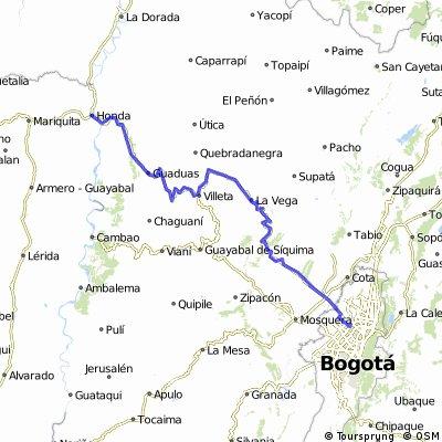 Bogota-Mariquita