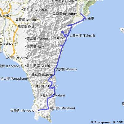 台東-太麻里山-旭海-恆春