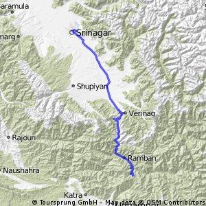Patni Top - Srinagar Day1