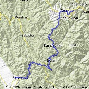 Simla - Kalka Station