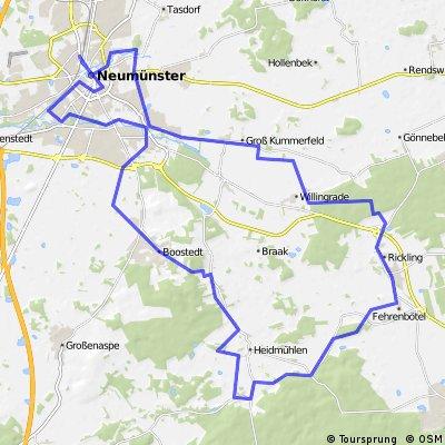 Tausend-Tannen-Tour ab Neumünster