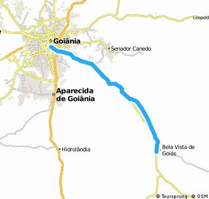 Goiânia - Bela Vista de Goiás (GO020)