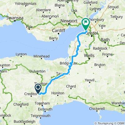 Day 3 Thorverton to Avonmouth