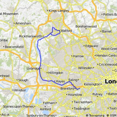 London to Watford - Grand Union Canal