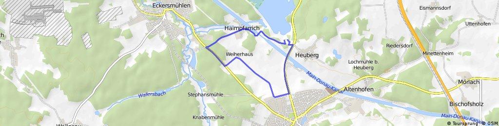 Memmert Rothsee Triathlon Radstrecke Sch. A/ Jug/ Jun/ Sprint 2015