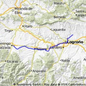 Camino de Santiago 4a tappa: Viana - S.to Domingo della Calzada