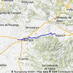 Camino de Santiago 5a tappa: S.to Domingo della Calzada - Villalbilla