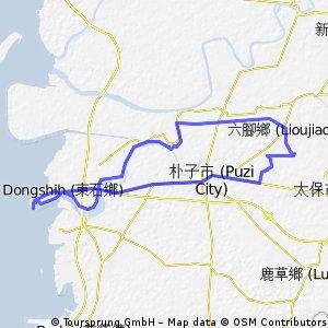 20111218圤子溪自行車道:蒜頭糖廠至東石漁人碼頭