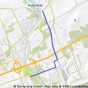 Proposed 401 Crossing - Short St and CNR Tracks