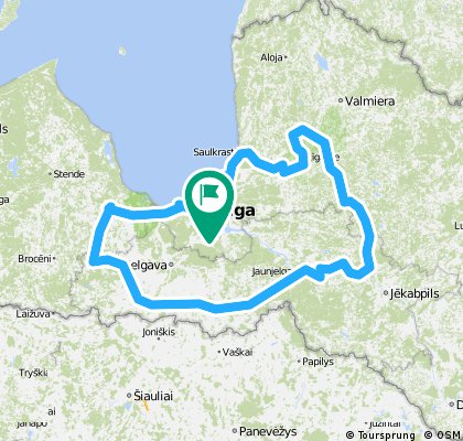 Латвія. Замки Бурштинового шляху