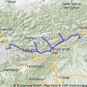 Berge ab Kapfenberg