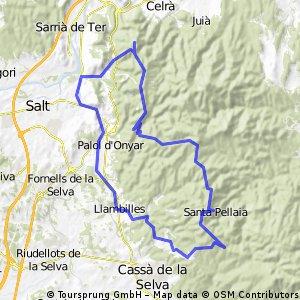 Girona-Sta Pellaia-Girona