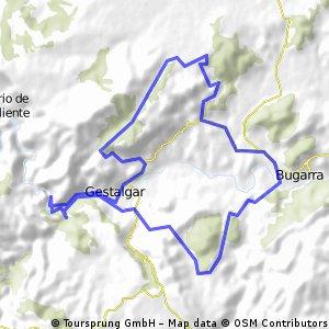 GESTALGAR - Gestalgar-Bugarra-Gestalgar (con extensión a Peña María)