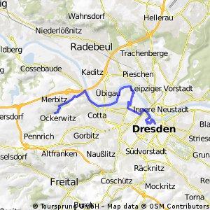 Stadtführung Dresden - Radtour West von www.stadtspiele-verlag.de