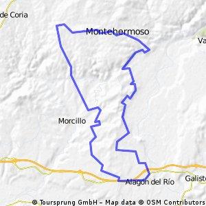 Alagón-Montehermoso-Guijo-Valrio-Alagon