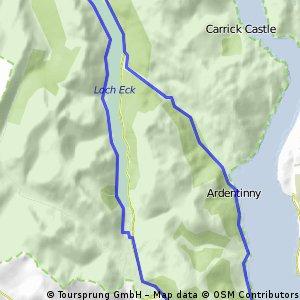 Schottland Loch Long