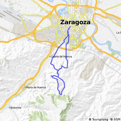 Cuesta Royo - Valdeconsejo - Montañés - Elefantes - Toboganes II - Viñedos