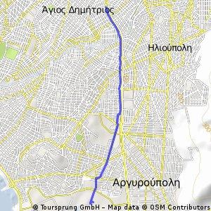Αμαξοστάσιο τραμ - μετρό Αγ. Δημητρίου
