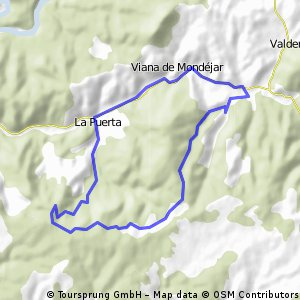 La Puerta-Llanos de las Muelas (circular)