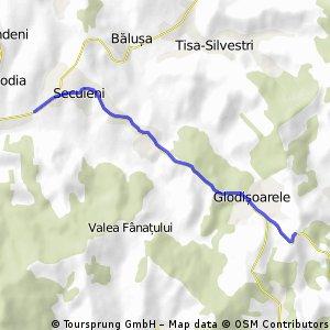 Godovana Climb-Seciueni side(2.84%)