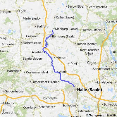 Halle - Altenburg/Nienburg
