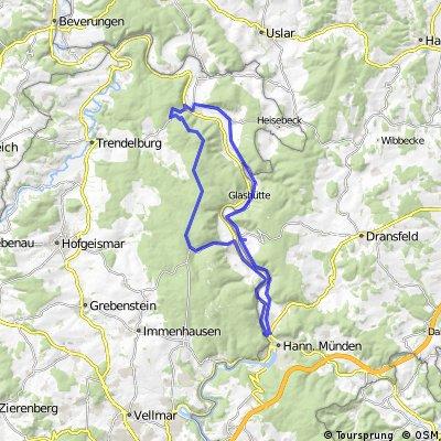 Große Waldweg-Schleife