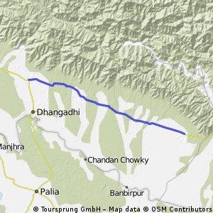 cycling to himalaya - Day 6