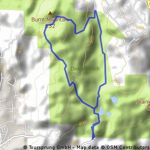 Jack Creek - Cougar Ridge Trail at Daley Ranch