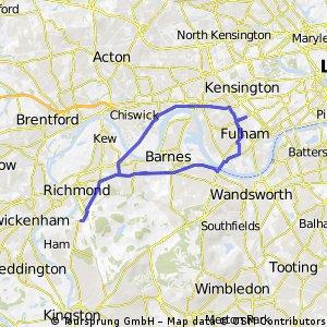 Richmond Park Morning Hill Ride