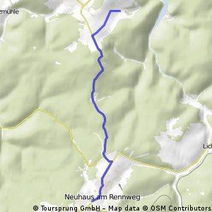 Deesbach - Neuhaus am Rennweg