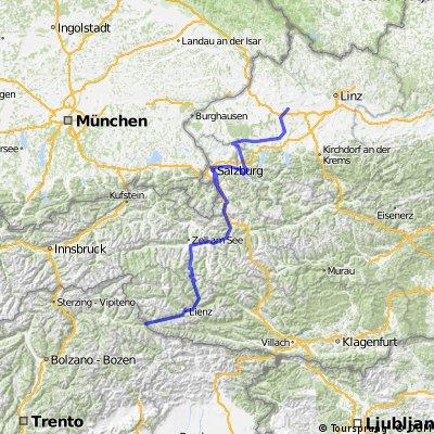 Rosignano (LI)-Dobbiaco-Grossglockner-Linz # 2