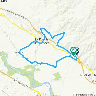 Alfajarín - La Puebla de Alfindén - Pastríz - La Alfranca - Alfanjarín