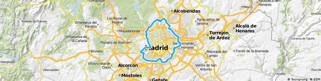 Anillo verde - Madrid