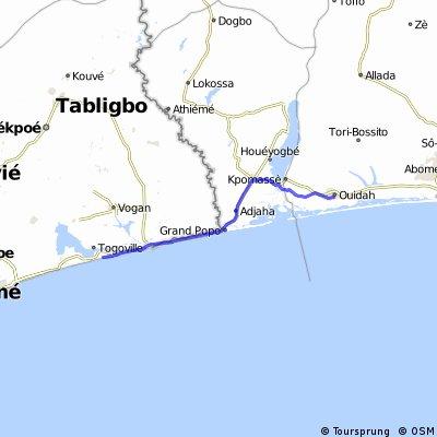 BN Ouidah - Agbodrafo