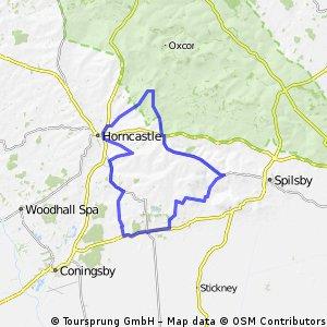 Revesby 25 mile via Horncastle