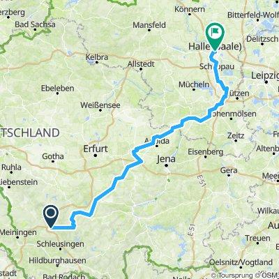 Ilmradweg / Halle