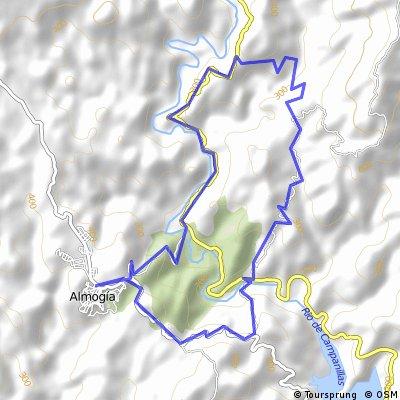 Almogia-Tellez-Barranco del Sol-Los Ruices-Amogia