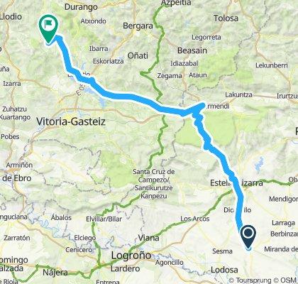 Lerín Iondogorta vuelta a españa 134.569km etapa 12