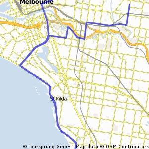 St. Kilda loop to work